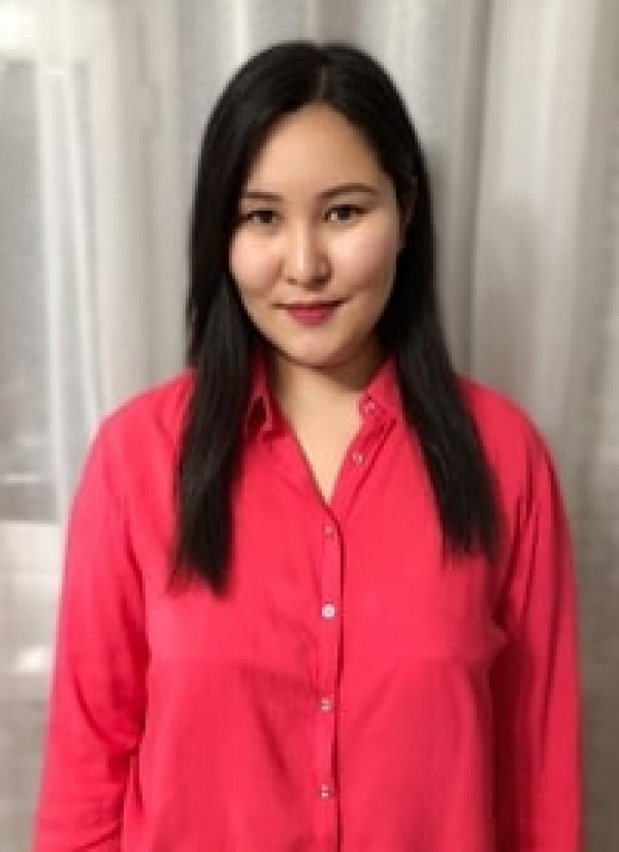 преподаватель корейского языка - Наргиза