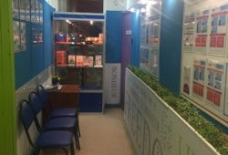 Аудитории для изучения иностранных языков центра Евразия