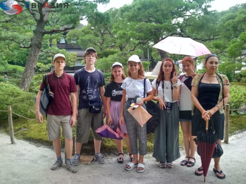 Детские курсы японского языка за границей