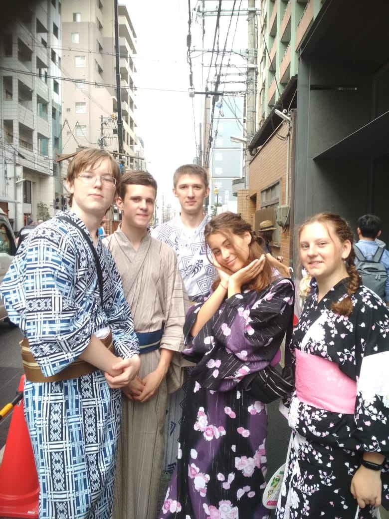 Обучение в Киото разговорному языку
