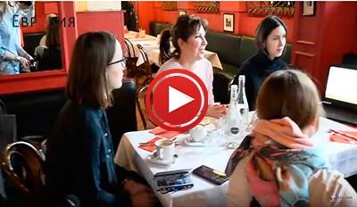 Французский завтрак в кафе Жан-Жак